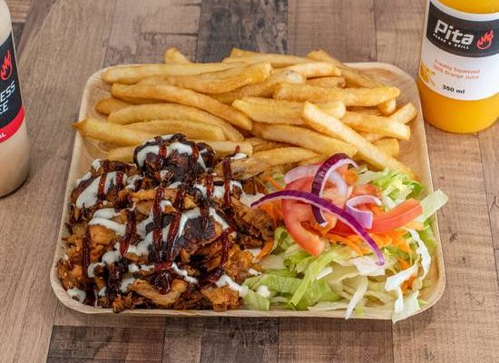Mixed kebab plate